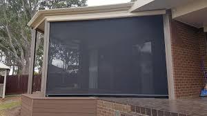 ezip outdoor roller blinds