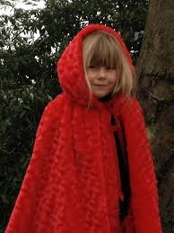 Childs Cape Pattern Extraordinary Me And My Shadow Little Red Riding Hood Cape Tutorial