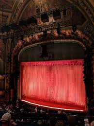 New Amsterdam Theatre Level 2 Mezzanine