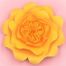 Made Flower With Paper 2018 Half Made Giant Paper Flowers Diy Full Kits For Wedding Event Decorations Backdrops Deco Video Tutorials 5 Sizes 6 Colors