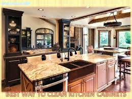 cleaning wood kitchen cabinets best way to clean wood cabinets in kitchen p cleaning painted wood kitchen cabinets polish wood kitchen cabinets