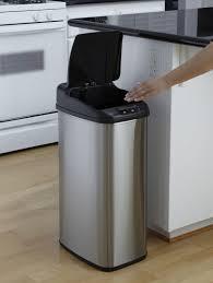 nine stars motion sensor slim touchless 13 2 gallon trash can canada