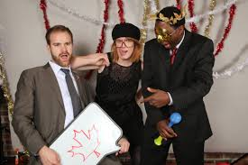 hillary schuster >> photo booths << photobooth at work holiday party booth by trevor again
