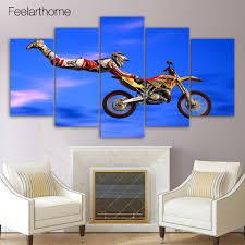 Motocross Bedroom Decor Online Get Cheap Motocross Wall Art Aliexpresscom Alibaba Group