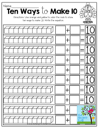 Ideas Collection Decomposing Numbers Kindergarten Worksheets With ...