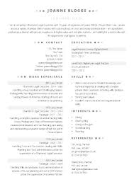 Free Word Legal Executive Cv Template Cv Template Master