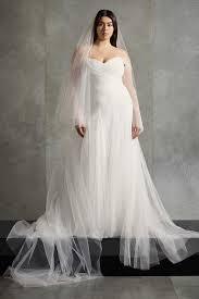 White by <b>Vera Wang</b> Wedding Dresses & Gowns | David's Bridal