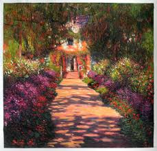 claude monet garden. Modren Garden Pathway In Monetu0027s Garden At Giverny 1902 To Claude Monet I