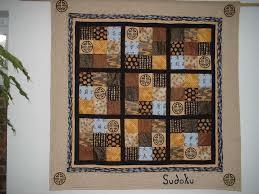 20 best quilt: sudoku images on Pinterest | Easy quilts, Quilt ... & Sudoku Quilt Adamdwight.com