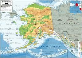 geoatlas  us states  alaska  map city illustrator fully
