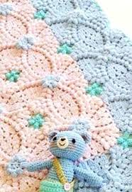 Crochet Baby Blanket Patterns Cool Pretty Crochet Baby Blanket Free Pattern Mycrochetpattern