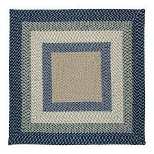 colonial mills avery blue crush indoor outdoor area rug 7 x