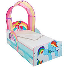 Hello Home My Little Pony Girls Toddler Bed with Canopy and underbed ...