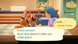 How to Use Bell Vouchers - Animal Crossing: New Horizons Wiki Guide - IGN