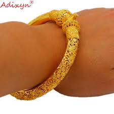 Adixyn Three Desigh Dubai Bangles For Women/Girls 24k Gold ...