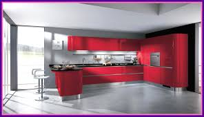 black and red kitchen designs. Funky Red Kitchen Ideas Elaboration Cabinets Avec Black Designs White And