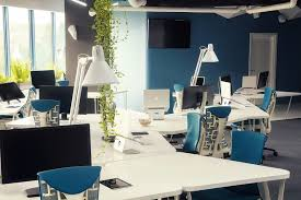 Office Workspace Design Futuristic Office Furniture For