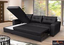 leather sofa bed. Brand New Corner Sofa Bed With Storage Top Quality Eco Leather T