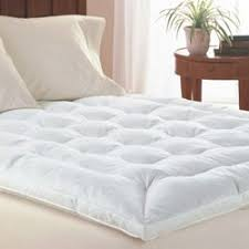 mattress topper. King Size Goose Feather Mattress Topper By Simply Bedding