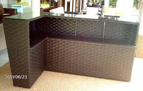 l shaped bar counter outdoor bar counter 2