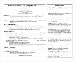 Computer Science Resume Extraordinary Computer Science Student Resume Lovely Resumes For High School