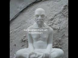He lived most of his life at shegaon, near akola district in maharashtra. Gajanan Maharaj Marble Statue Sai Gajanana Murti Art 9950999021 Youtube