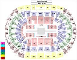 Concert Staples Center Seating Chart Bad Bunny Staples Center