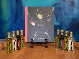 olive oil vinegar cookbook gift set