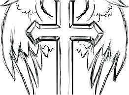 Cross Coloring Pages To Print Cross Coloring Pages Printable For