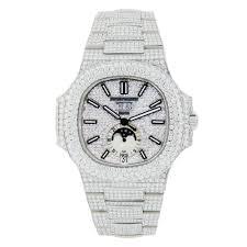 Omi Customized Philippe Jewelry Nautilus With Full Diamonds Patek -