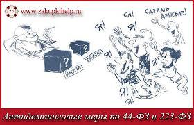 Антидемпинговые меры по ФЗ и ФЗ ru антидемпинговые меры