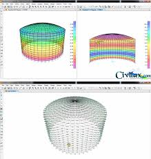 Water Tank Design Design And Analysis Of Water Tank With Sap2000
