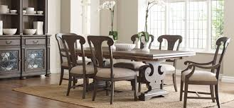 kincaid furniture solid oak dining room