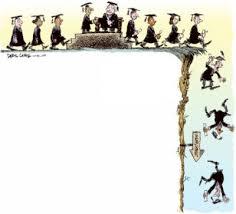 Карикатуры о наболевшей теме Безработица  Вот он долгожданный диплом На западе церемония вручения дипломов принимает самые торжественные масштабы да и у нас тоже стараются на таких мероприятиях