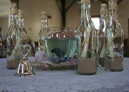 message in a bottle centerpiece - 17 best images about weddings theme on