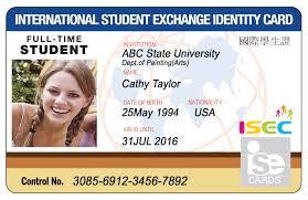 Student Id isecard Card Isec