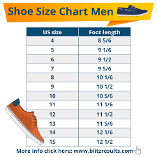 International Counting System Chart Shoe Sizes Shoe Size Charts Men Women How To Measure