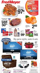 the new fred meyer ad started yesterday sunday january 21st and runs through saay january 27th as always make sure to check out fred meyer s