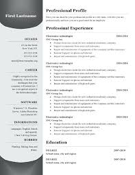 Resume Template Microsoft Word Download – Lifespanlearn.info