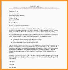 9 10 Sample Nursing Cover Letter New Grad Wear2014 Com