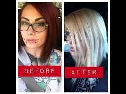 bleach bath to lighten hair toning