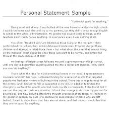 Examples Of Personal Statements For Cv Personal Statement For A Resume Skinalluremedspa Com