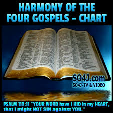 Harmony Of The Four Gospels Comparison Of The Four Gospels
