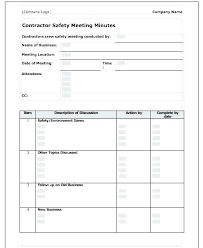 Minutes For Meeting Template Stingerworld Co