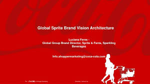 Ppt Global Sprite Brand Vision Architecture Powerpoint