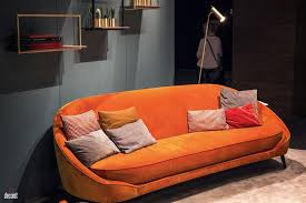 Orange Couch Living Room 30 Bright And Comfy Sofas That Add Color To The Living Room