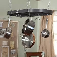 Hanging Kitchen Pot Rack Lowes Hanging Pot Rack With Lights Beauteous Hanging Pot Rack