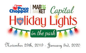 Albany Lights In The Park Walk Capital Holiday Lights In The Park
