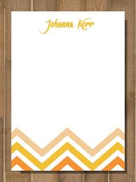 stationary from the desk of note office memo by bluemoondesigns1 15 00