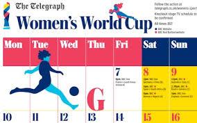 Print Your Fifa Womens World Cup 2019 Calendar